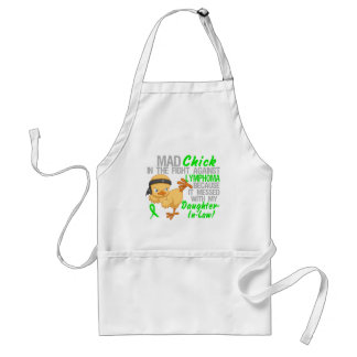 Mad Chick Messed With Daughter-In-Law 3 Lymphoma Standard Apron