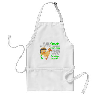 Mad Chick Messed With Father-In-Law 3 Lymphoma Standard Apron