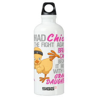 Mad Chick Messed With Granddaughter Breast Cancer SIGG Traveller 0.6L Water Bottle