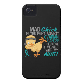 Mad Chick Messed With My Aunt 3 Ovarian Cancer Case-Mate iPhone 4 Case