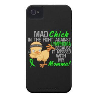 Mad Chick Messed With My Momma 3 Lymphoma iPhone 4 Case