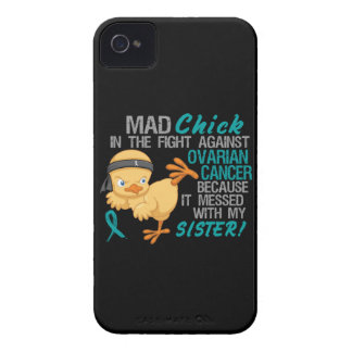 Mad Chick Messed With Sister 3 Ovarian Cancer Case-Mate iPhone 4 Cases