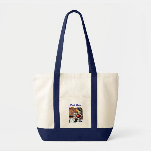 Mad Cow Canvas Bags