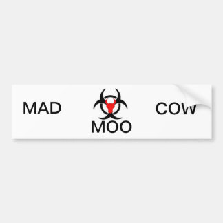 Mad Cow Collection Bumper Stickers