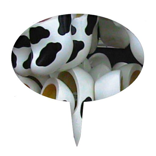 Mad cow feet, ideal for mad cows cake pick
