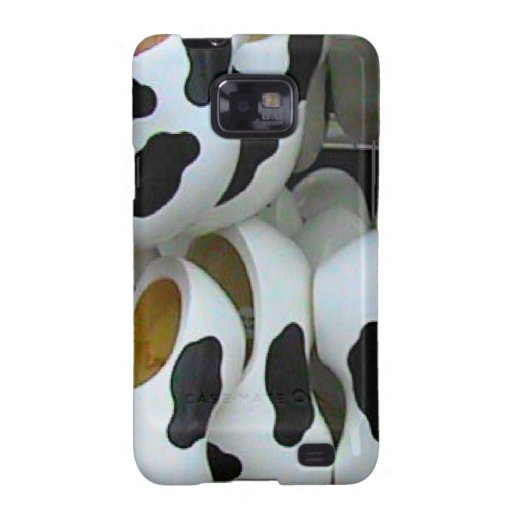Mad cow feet, ideal for mad cows samsung galaxy SII cover