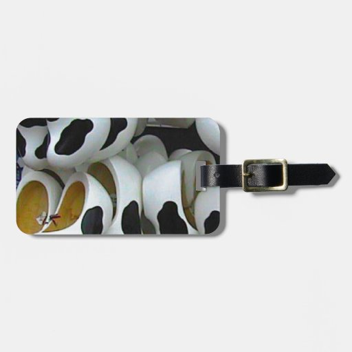 Mad cow feet, ideal for mad cows tags for bags