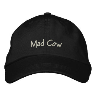 Mad Cow Funny Cap / Hat