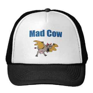 Mad Cow Trucker Hats