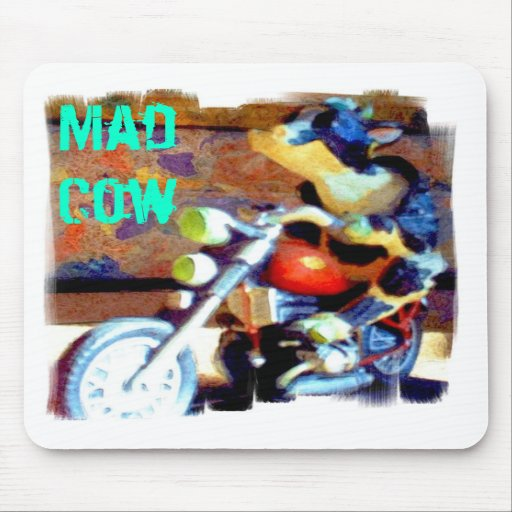 Mad Cow Mouse Pads