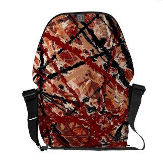 MAD DASH (an abstract art design) ~ Commuter Bag