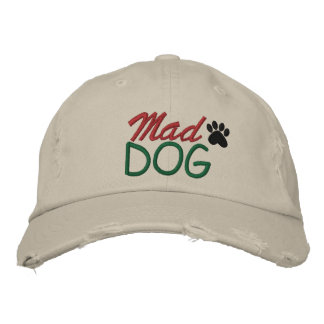 MAD DOG by SRF Embroidered Hat
