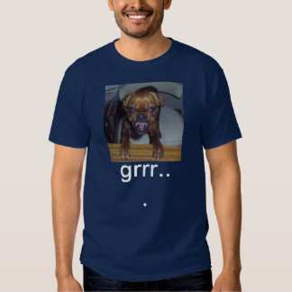 mad dog, grrr... tee shirt