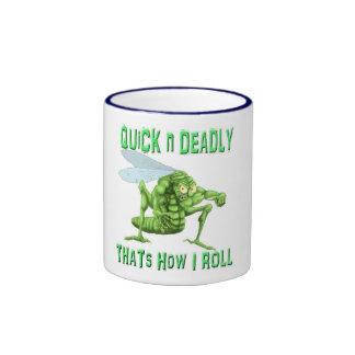 Mad Dog Hopper Ringer Coffee Mug