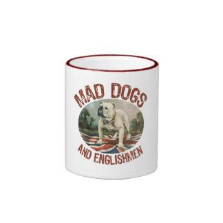 Mad Dogs & Englishmen Ringer Coffee Mug