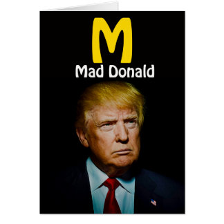 MAD DONALD CARD