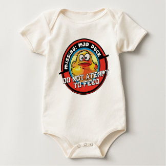 mad duck missing... baby bodysuit
