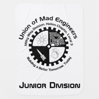 Mad Engineer Baby Blankets