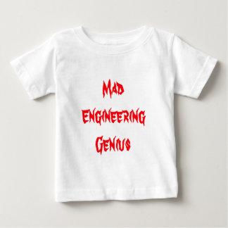 Mad Engineering Genius Geeky Geek Nerd Gifts Baby T-Shirt