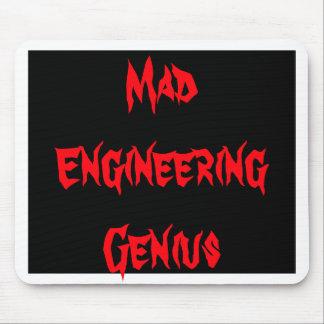 Mad Engineering Genius Geeky Geek Nerd Gifts Mouse Pads