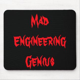 Mad Engineering Genius Geeky Geek Nerd Gifts Mousepad