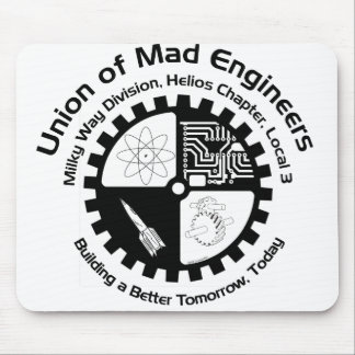 Mad Engineers Mousepad