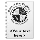 Mad Engineers Spiral Notebook