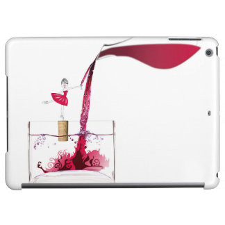 Mad for wine iPad air cover