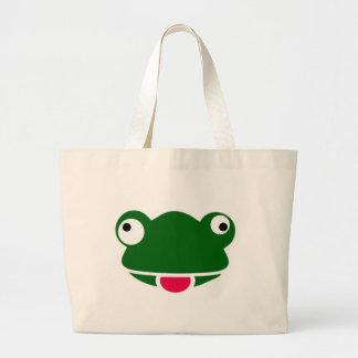 Mad Frog Design Merchandise Large Tote Bag
