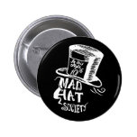 Mad Hat Society 6 Cm Round Badge