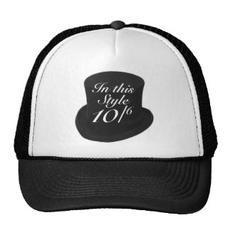 Mad Hatter Trucker Hats