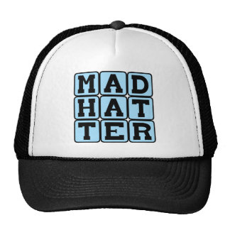 Mad Hatter Alice in Wonderland Character Hats