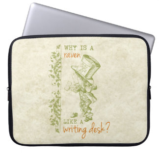 Mad Hatter, Alice in Wonderland Laptop Sleeve