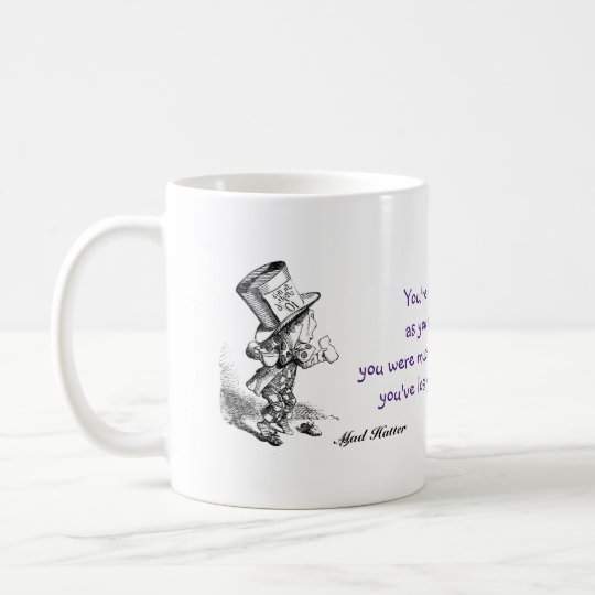 Mad Hatter, Alice in Wonderland, Muchness Coffee Mug