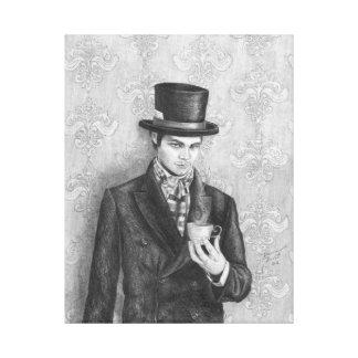 Mad Hatter Art Canvas Alice in Wonderland Art