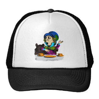 Mad Hatter at Tea from Alice in Wonderland Mesh Hat