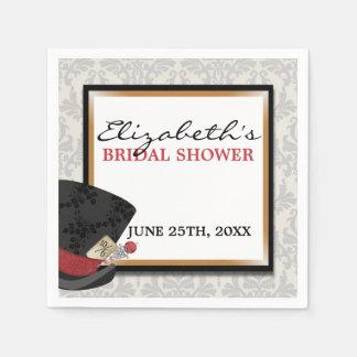 Mad Hatter Bridal Shower Napkins Paper Serviettes
