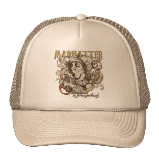 Mad Hatter Carnivale Style Gold Version Hats