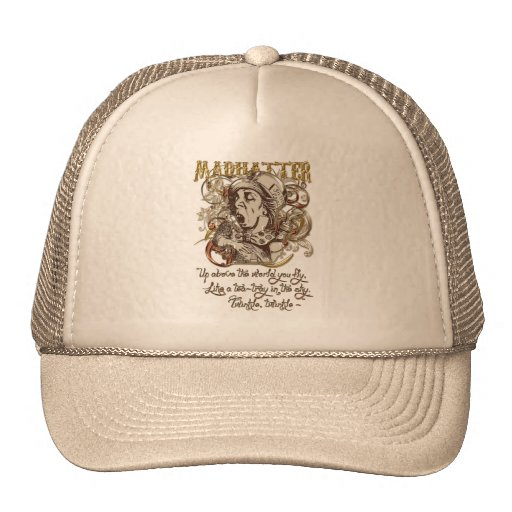 Mad Hatter Carnivale Style (with poem) Trucker Hat
