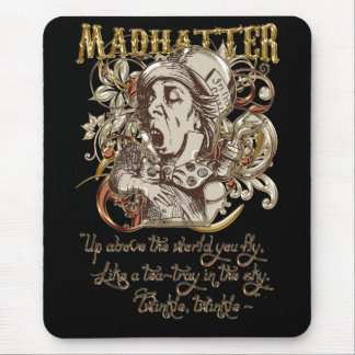 Mad Hatter Carnivale Style (with poem) Mouse Pad