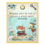 Mad Hatter & Cat Bring a Book Baby Shower
