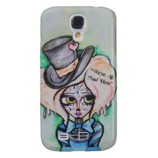 Mad Hatter, Dia De Los Muertos Phone Case Galaxy S4 Case