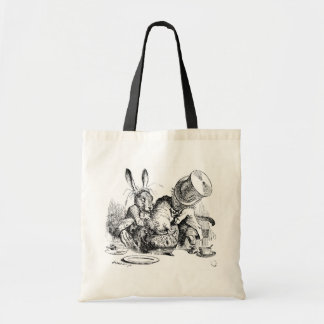 Mad Hatter, Dormouse and March Hare Tote Bag