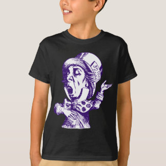 Mad Hatter Inked Purple T-Shirt