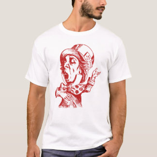 Mad Hatter Inked Red T-Shirt