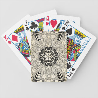 Mad Hatter Kaleidoscope 2 Bicycle Playing Cards