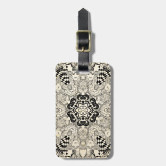 Mad Hatter Kaleidoscope 2 Luggage Tag