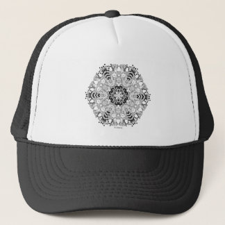 Mad Hatter Kaleidoscope Trucker Hat