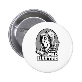 Mad Hatter Logo 6 Cm Round Badge