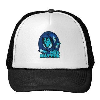 Mad Hatter Logo Blue Hat